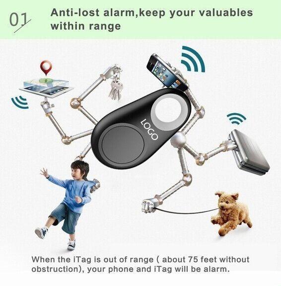 Bluetooth рюкзак ребенка ребенок анти-потерянный устройство GPS дети анти-потерянный мешок пропавших ключ, Мобильный телефон, Багажа, Бумажник сигнал тревоги