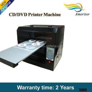 2016 hottest auto inkjet CD/DVD/PVC printer with one year warranty
