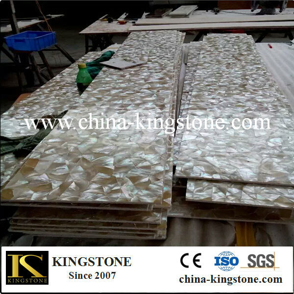 natural mother of pearl shell mosaic tile