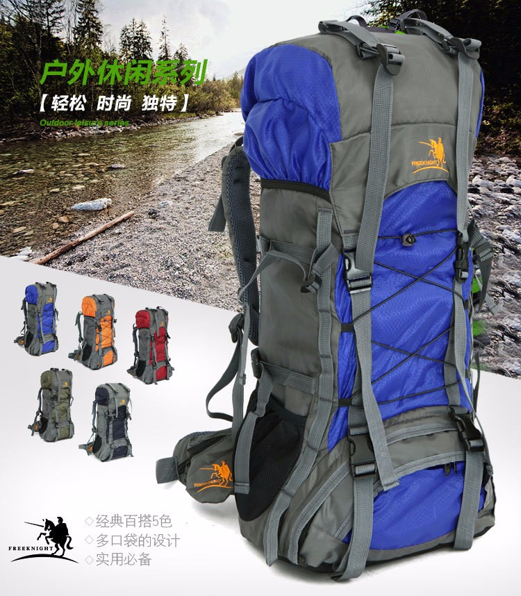 Durable Outdoor Mountaineering Women Backpacks 60 L Multifunction Large Capacity Men Sports Backpack Hiking Camping Bags DSB0002