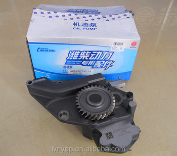 100% genuine WEICHAI oil pump AZ1500070021A WD615