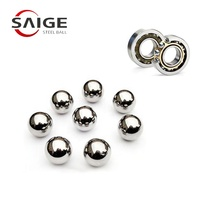 3.5mm 3.8mm 5.95mm 6.35mm 6.5mm micro ball bearing chrome/low carbon/stainless steel ball din5401