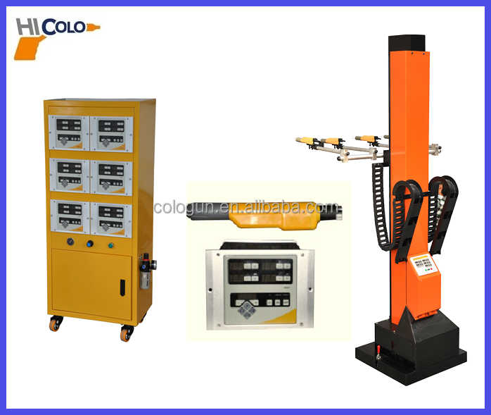 Automatic powder coating equipment mechnical reciprocator