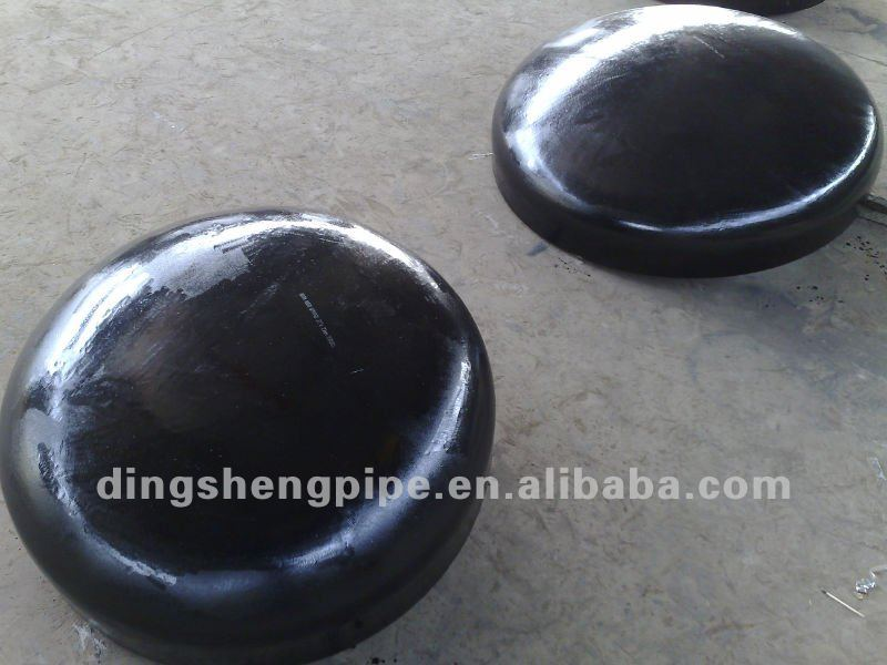 carbon steel pipe cap, WPHY 65 CAP, MSS SP-75