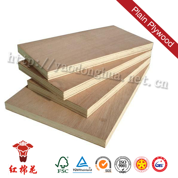 FSC,CARB,ISO9001 certificated heat treated plywood furniture grade