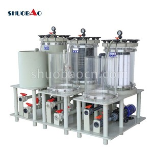 Shuobao duplex activated carbon filter for electroplaitng or water treatment