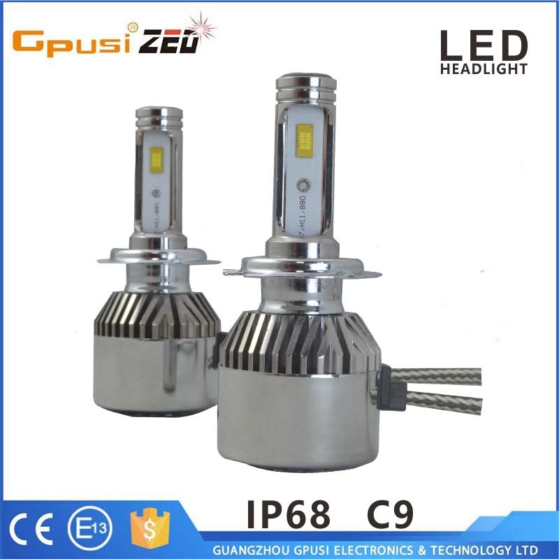 60W Phillips Car Lights Bulbs 9006 5202 H16 H4 H11 H7 High Quality Latest LED Headlight