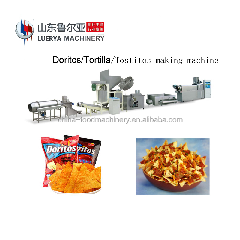 2018 LUERYA New Model Automatic corn doritos chips production <strong>line</strong>