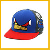 fashion kids embroidery flat visor snapback hiphop cap ccap-0385