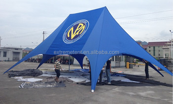 10m two-pole double peak star shade/star shaped twin tent for exhibition & 10m Two-pole Double Peak Star Shade/star Shaped Twin Tent For ...