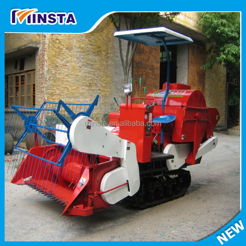 ISO9001:2008 Certificate and Belt Drive Drive Type Small volume mini rice harvester