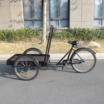 High Quality Cargo Bike Reverse Trike Front Loading Tricycle For