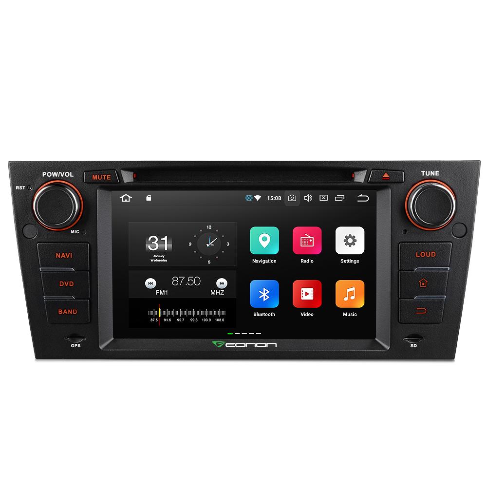 Eonon Ga9165a For Bmw E90/e91/e92/e93 Android 8 0 Nougat Octa-core 4gb Ram  8 Inch Car Dvd Gps Navigation Compatible With Hdmi - Buy Android 8 0 Car