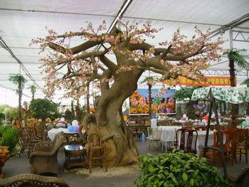 2017 Sj At014 High Quality Artificial Cherry Blossom Tree Hotel Decor Art Fake For Landscape