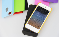 2200mah 10 colors rechargeable ultra thin power bank case for iPhone5/5s