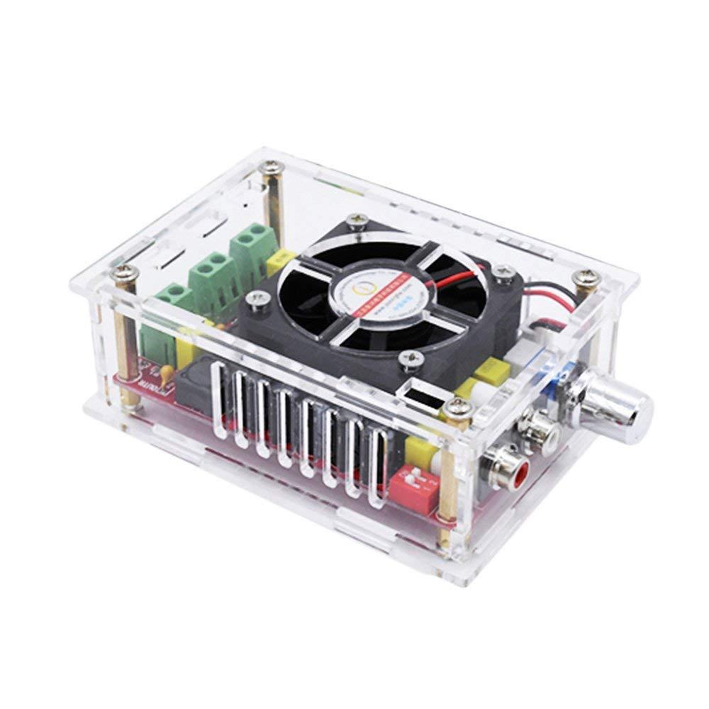 AOSHIKE TDA7498 Digital Audio Amplifier Board 2x100W High Power Stereo Dual Channel Amplificador With Case DC9-34V Supply DIY