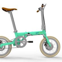 yunbike f1-16 inch uma foldable electric bike