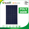 Best price poly solar panel 250w 260w 270w panels for home industrial use