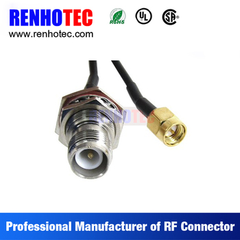 Rf Connector Male Female Sma Cable Assembly Splicing Wire Rg174 ...