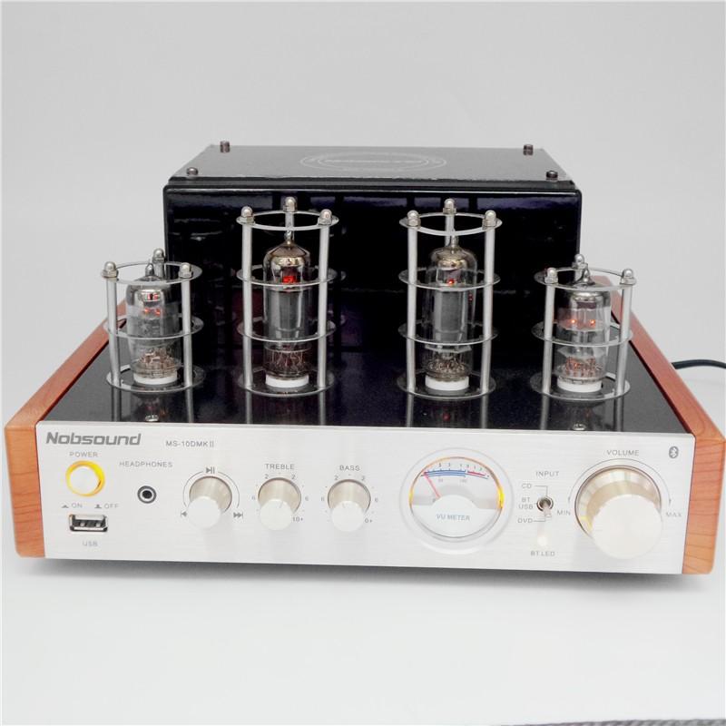 Nobsound MS-10D MKII Hifi 2 0 Bluetooth 4 0 tube Audio amplifier USB