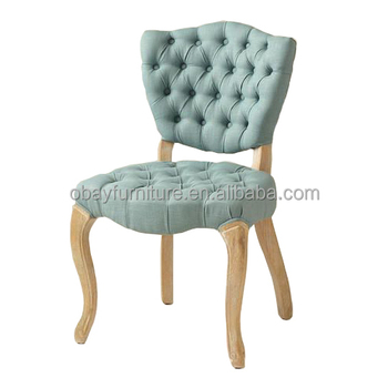 Dubai market hot sale event wedding chair, french Pprovincial tufted event rental wedding chairs