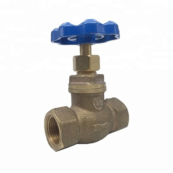 "Good quality lower price 1/2"" water bronze globe valve"
