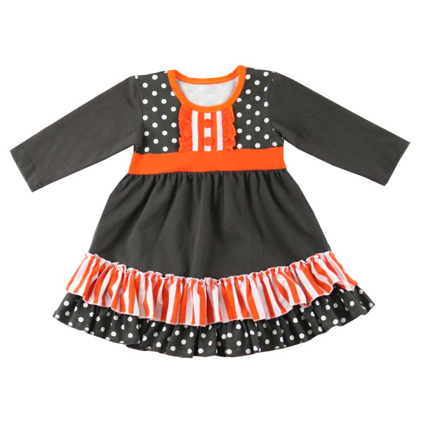 Hot sale girl child winter dress net halloween frock designs for kids latest western dance dress for girls