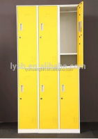 Waterproof entertainment venues Saffron yellow 6 doors hotel safe locker, safe steel locker, password locker/school steel locker