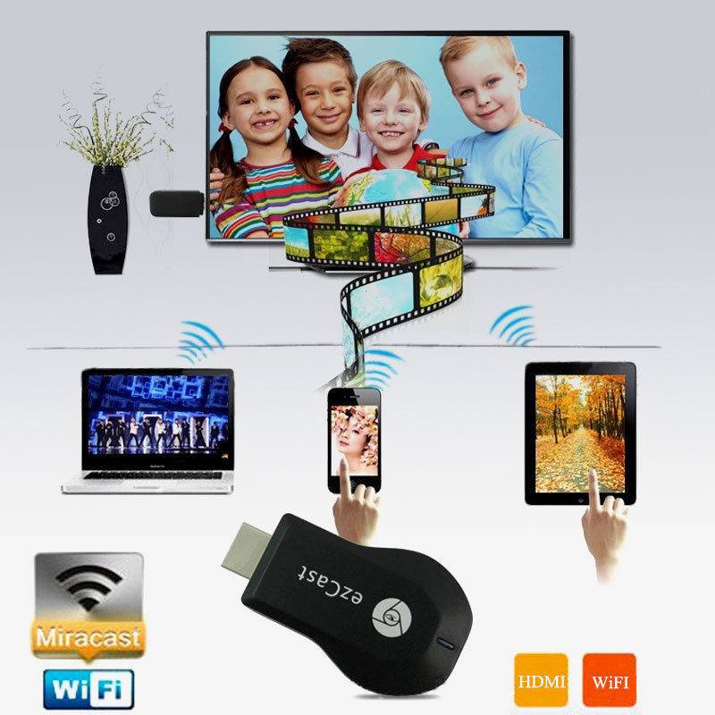 wholesale M2 EzCast TV Stick HDMI 1080P Miracast DLNA Airplay WiFi Display Receiver Dongle Support Andriod Windows iOS