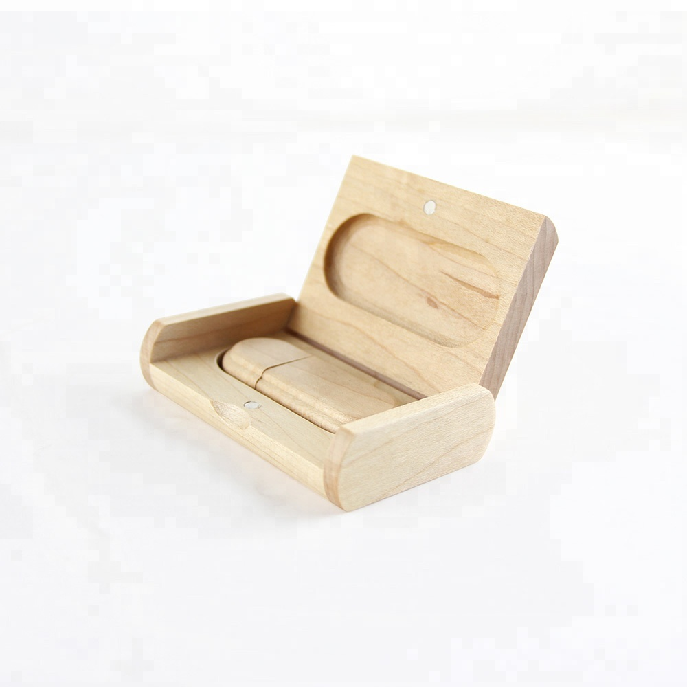 Wedding Gift Customized Wooden USB Flash Drives With Box Pen Drive 4gb 8gb 16gb USB for Wedding