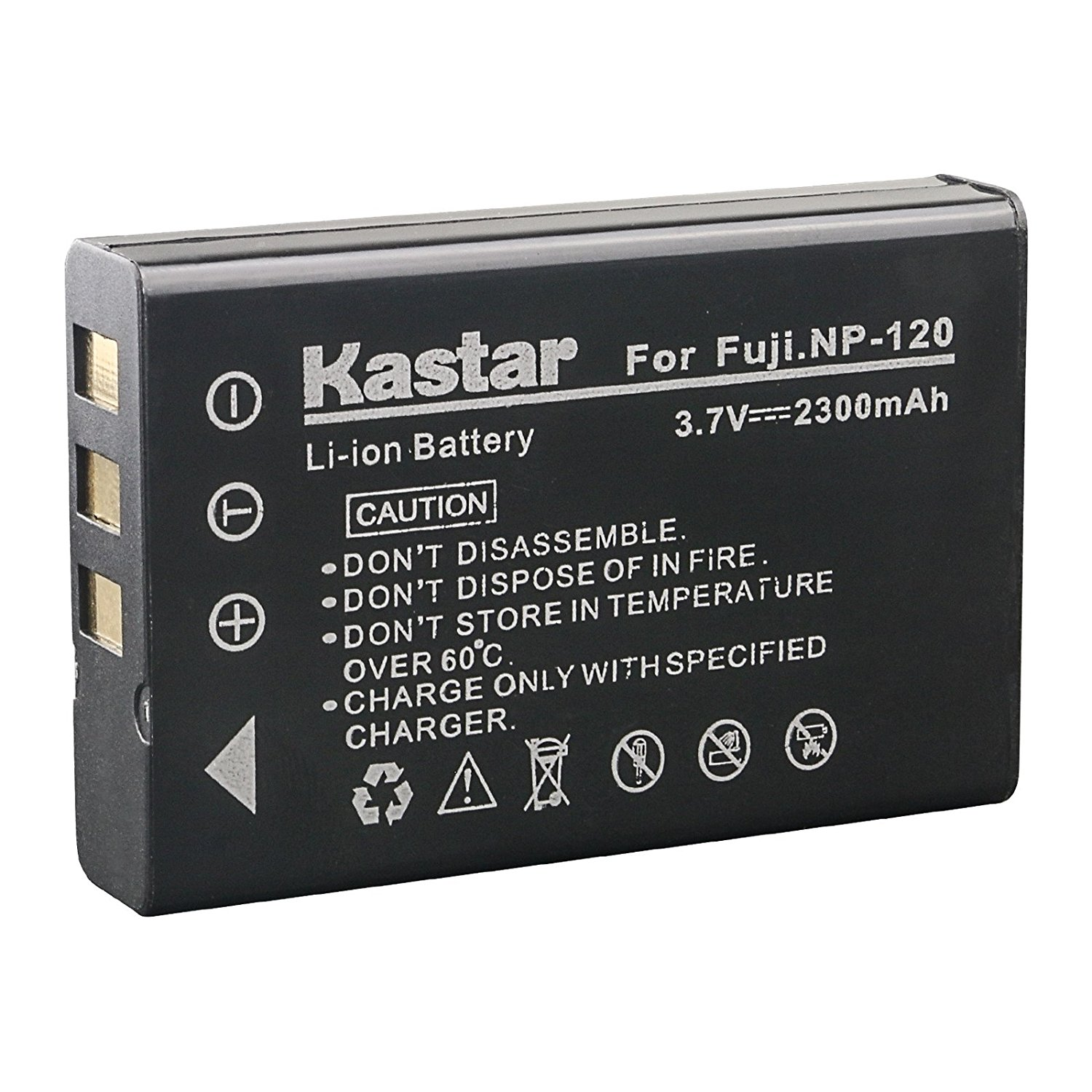 Get Quotations · Kastar Battery for Fujifilm NP-120 NP120 FNP120 D-LI7  DB-43 and