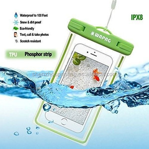 Reliable quality and durable custom clear zip sealed pvc inflatable floatable waterproof bag for mobile phone