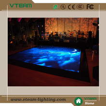 Vteam interactive full color night club and disco bar dancing led floor display