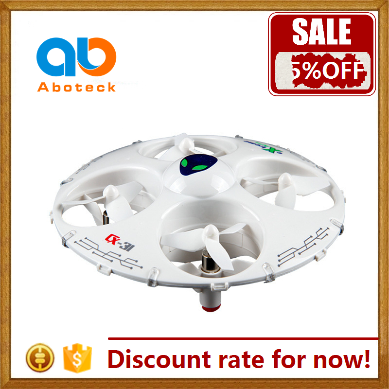 Wholesale rc ufo toy drone mini quadcopter with led light