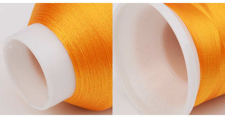 China supplier of high quality 150/2 polyester embroidery thread 150D 2