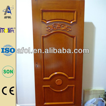 AFOL Oak Solid Wooden Doors Interior Accordion Doors Solid Wood