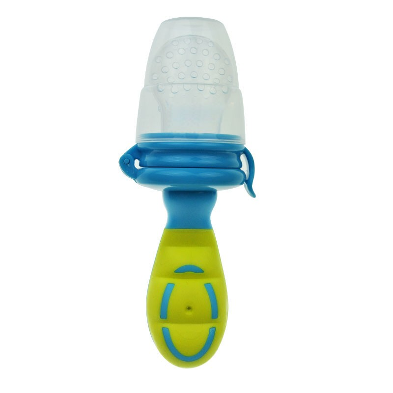 Baby Food Feeding Tool BPA-free Silicone Pacifier Fruit Meat Vegetable Supplement Medicine Infant Food Feeder