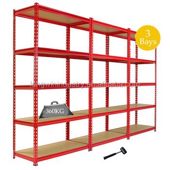 Heavy Duty Blue Storage Shelves Organizer Rack Shelf Garage Shelving