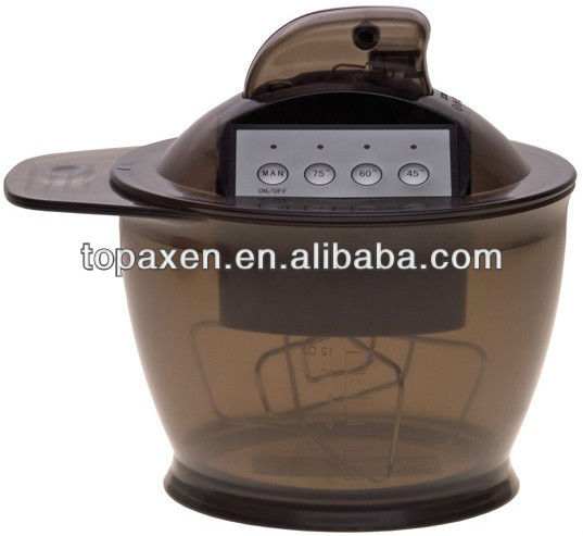 professional electric colr mixer shaker bowl with top quality