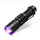 Hot Sale Detection LED Flash Light 365nm Ultraviolet Tactical Torch Zoom UV Flashlight