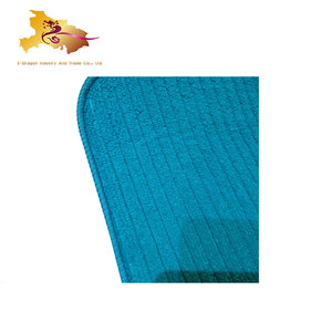 Hot selling absorbent dish mat teal drying large drainer brown