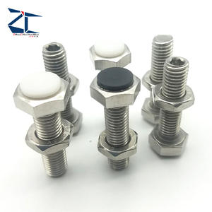 Reliable and Good plastic tip set screw nylon point screws