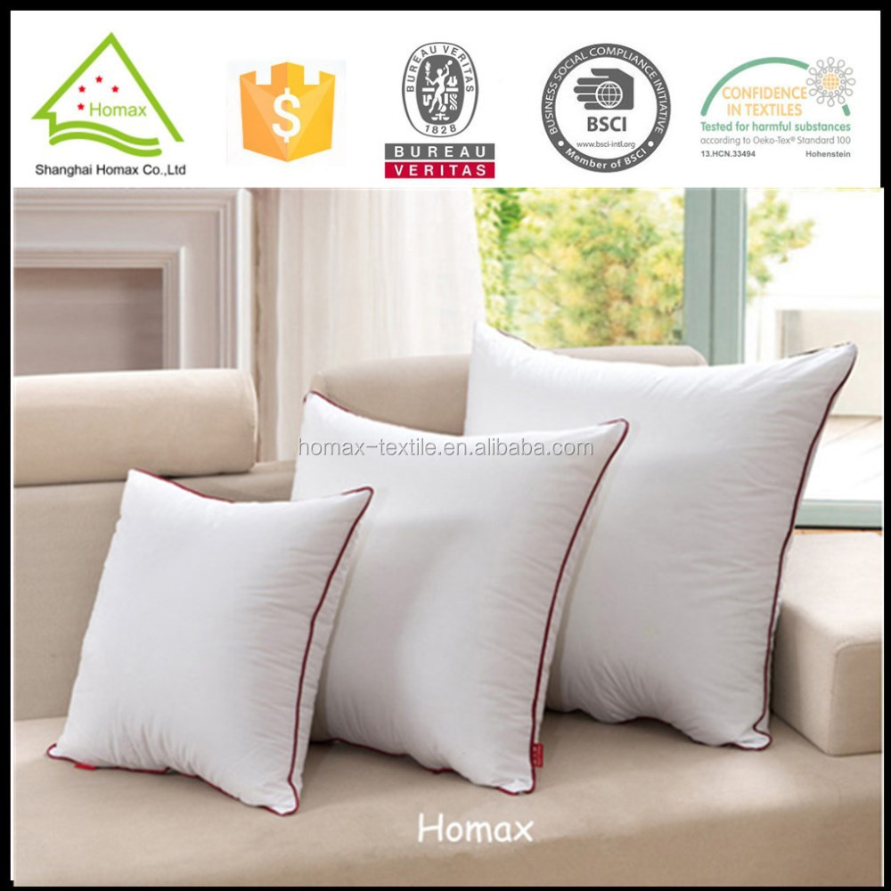 Promotional plain polyester cushion pillow
