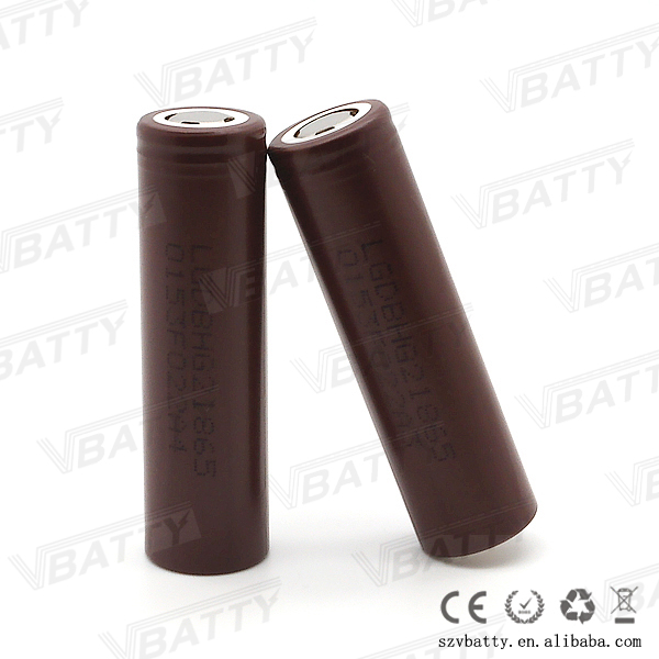 Good quality lgabhg2 3000mAh li-ion battery electric scooter 18650 lg hg2 3000mah 18650 rechargeable battery