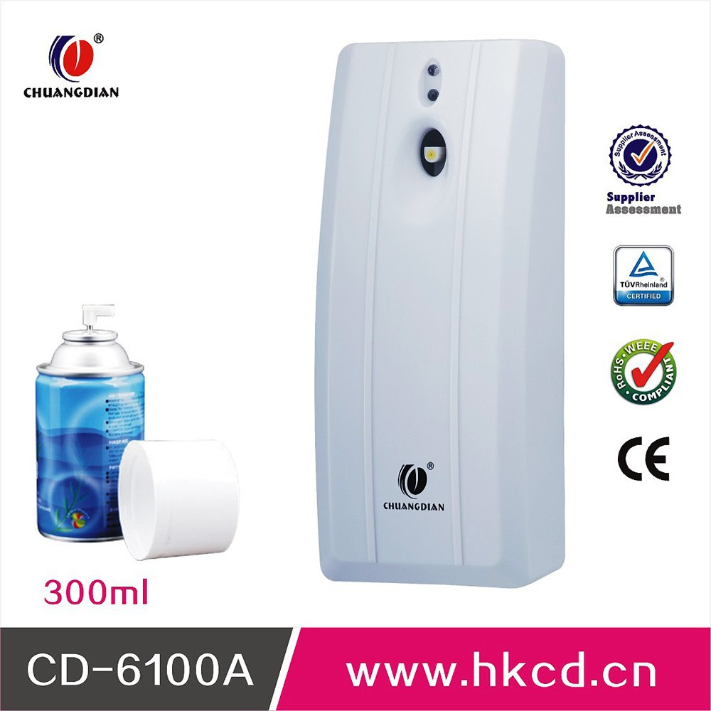 Auto Perfume Dispenser For Hotel Toilet And Other Public Places With Automatic Air Refresher DispenserCD-6100A