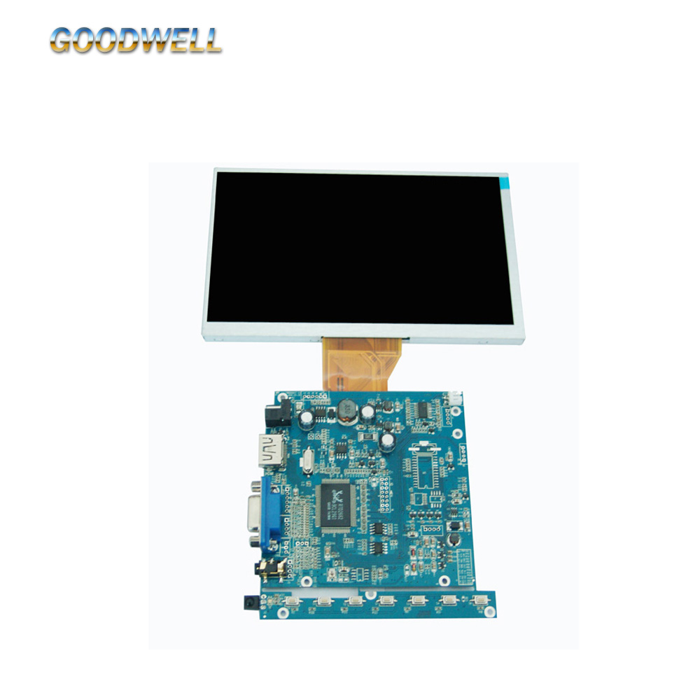 16:9 Touch 7 LCD <strong>Monitor</strong> with HDMI without frame 800x 480 for Industries Applications