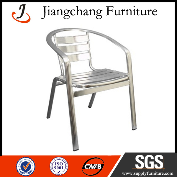Stacking Outdoor Garden Aluminum Chair JC-LV01