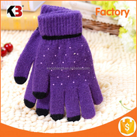 2016 Wholesale Iglove Colorful Warm Soft Winter Touch Gloves For Touch Screens Smartphone Tablet PC E-books