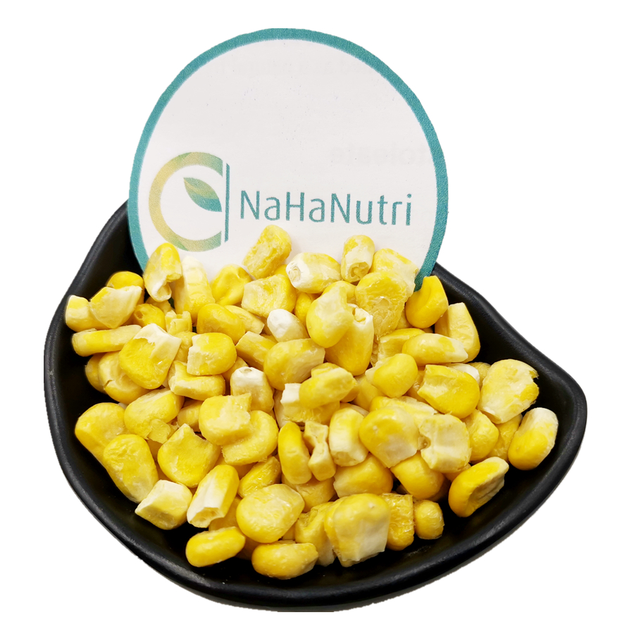 Nahanutri Supply Organic Freeze Dried Yellow Sweet Corn
