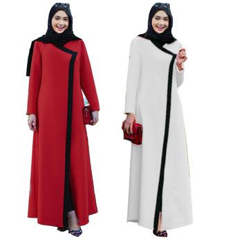 3588bfbf9 Largo musulmana ropa Abaya islámica vestido Burka Maxi dama vestido de  cóctel